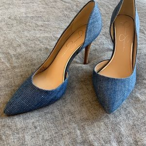 Jessica Simpson Demin Pumps